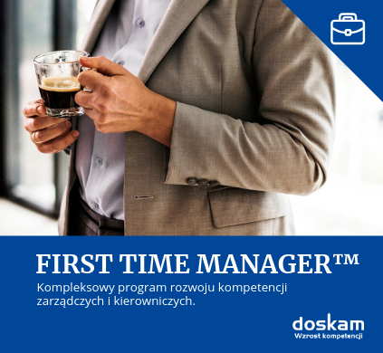 First Time Manager - szkolenia doskam