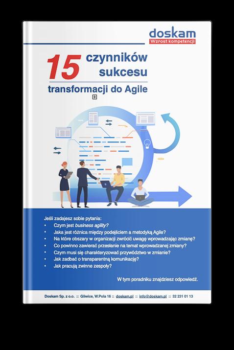 Poradnik Agile 15 czynników - zapisy 1